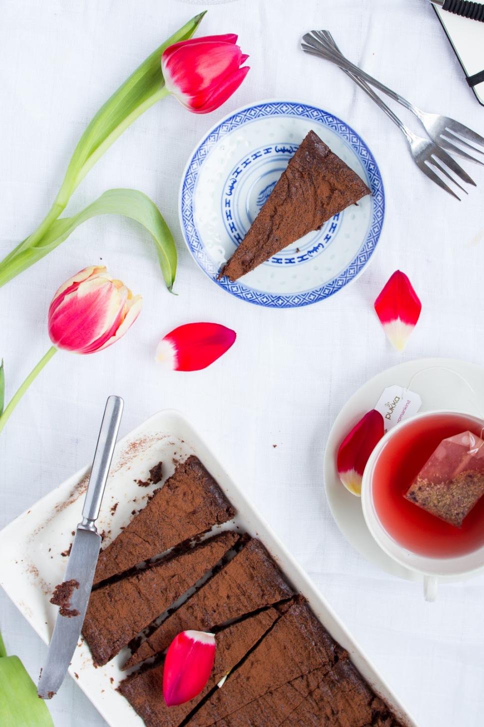 pähkinä-suklaakakku