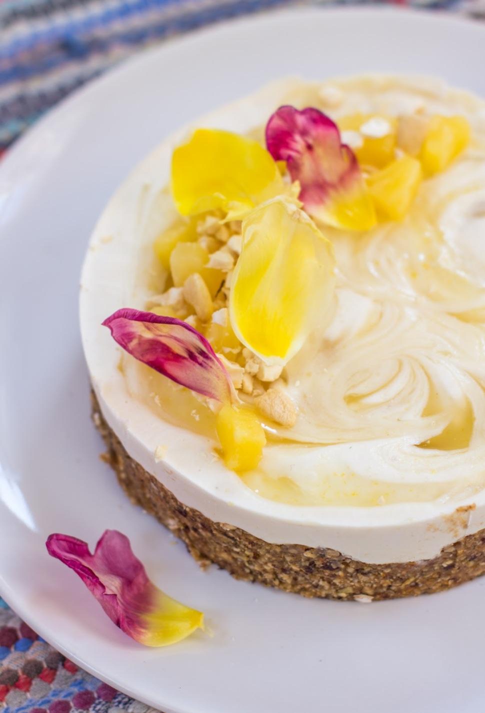 Ananas-koookos kakku