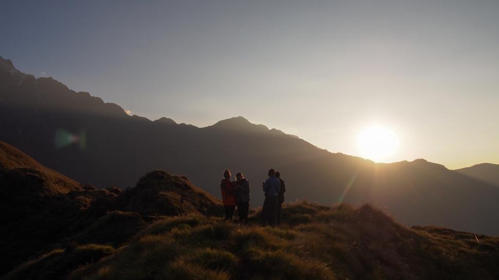 Nepal vuorella