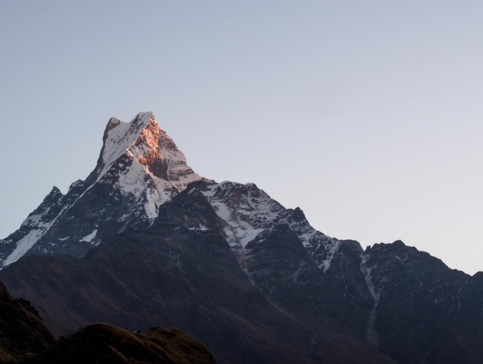 Nepal fishtail vuori